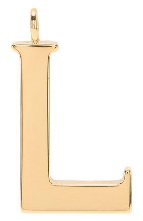 Женские подвеска для сумки alphabet key CHLOÉ золотого цвета, арт. CHC15WK00LCB79DA | Фото 1