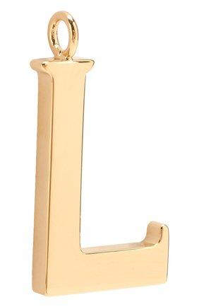 Женские подвеска для сумки alphabet key CHLOÉ золотого цвета, арт. CHC15WK00LCB79DA | Фото 2