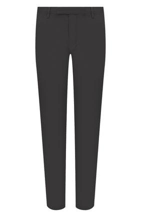 Мужские хлопковые брюки POLO RALPH LAUREN темно-серого цвета, арт. 710644988   Фото 1