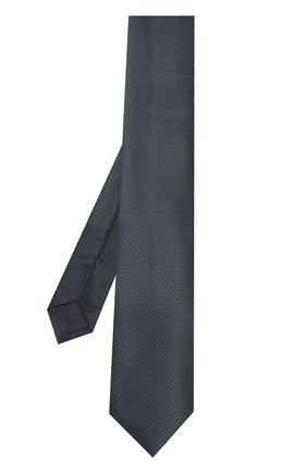 Мужской шелковый галстук с узором BRIONI темно-зеленого цвета, арт. 062I00/0740J | Фото 2