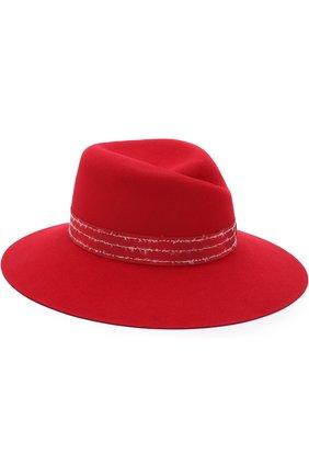 Фетровая шляпа Virginie с лентой | Фото №1