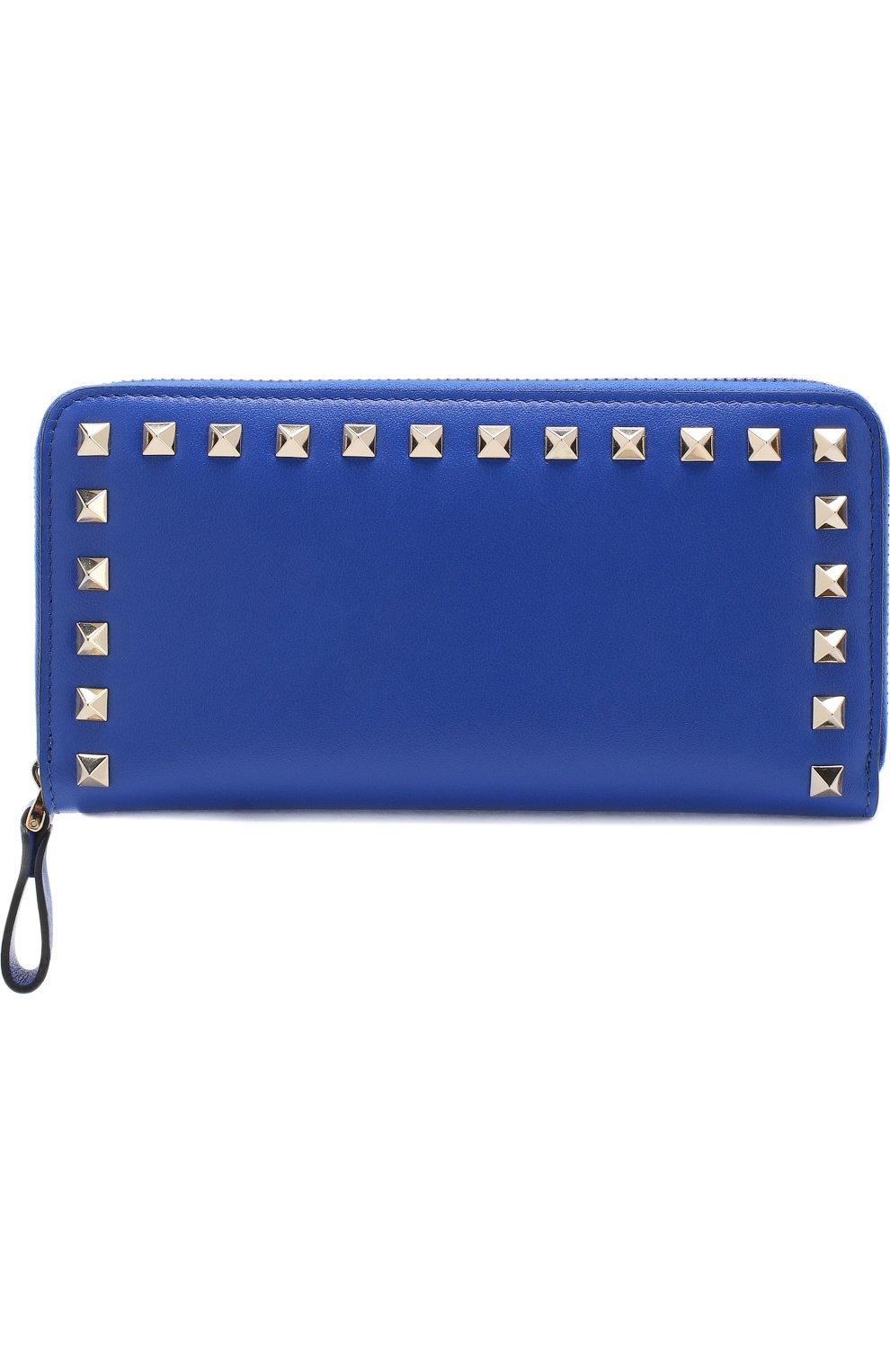 Кожаный кошелек Valentino Garavani Rockstud | Фото №1