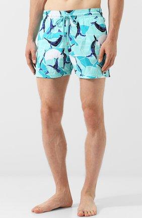 Плавки-шорты с принтом | Фото №3
