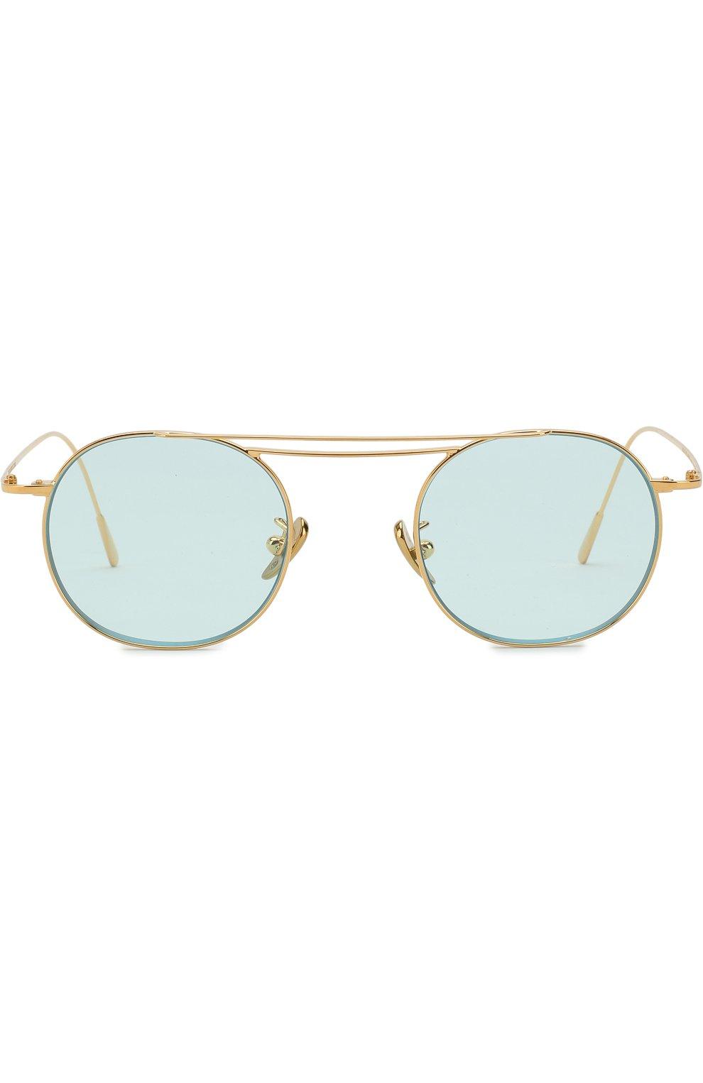 Женские солнцезащитные очки CUTLERANDGROSS бирюзового цвета, арт. 1268GPL/DPLBL | Фото 2