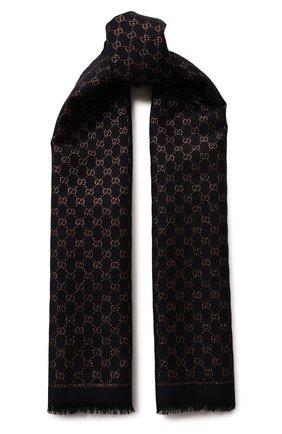 Шерстяной шарф с люрексом | Фото №1