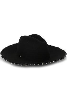Шерстяная шляпа с металлической отделкой | Фото №1