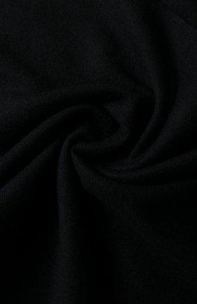 Мужской шарф из смеси кашемира и шелка с бахромой BRIONI черного цвета, арт. 03QH00/0741Q   Фото 2