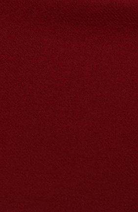 Мужской шерстяной шарф JOHNSTONS OF ELGIN бордового цвета, арт. WD000446 | Фото 2