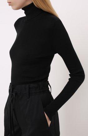 Женская водолазка из смеси кашемира и шелка TOM FORD черного цвета, арт. MAK840-YAX176 | Фото 3