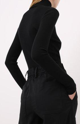 Женская водолазка из смеси кашемира и шелка TOM FORD черного цвета, арт. MAK840-YAX176 | Фото 4