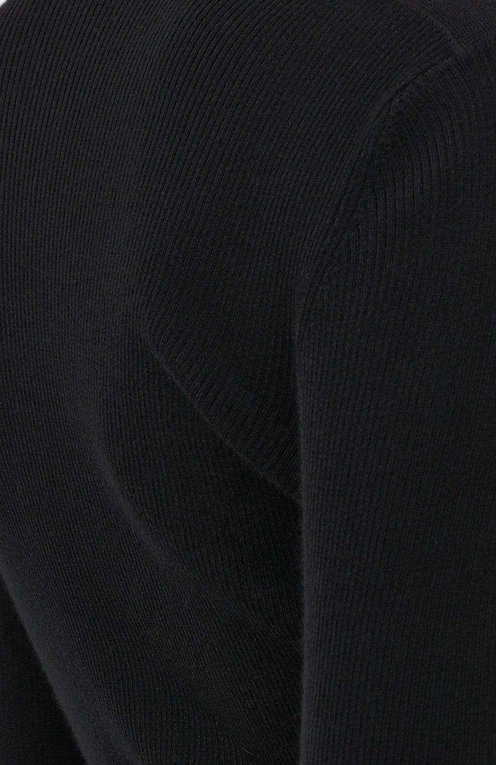 Женская водолазка из смеси кашемира и шелка TOM FORD черного цвета, арт. MAK840-YAX176 | Фото 5