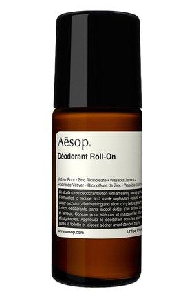 Женский дезодорант roll-on AESOP бесцветного цвета, арт. ABS22 | Фото 1