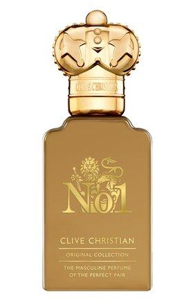 Мужской парфюмерная вода №1 masculine CLIVE CHRISTIAN бесцветного цвета, арт. 652638004136 | Фото 1