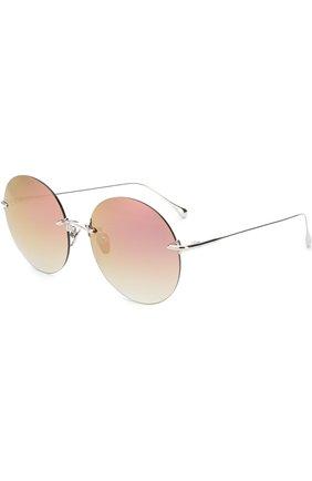 Женские солнцезащитные очки FRENCY&MERCURY темно-розового цвета, арт. NEVER KN0W NEXT KISS/SS-LPM | Фото 1