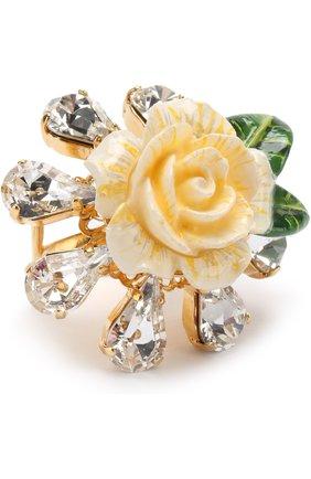 Кольцо c отделкой кристаллами Swarovski   Фото №1