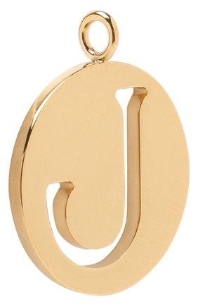 Женские подвеска для сумки alphabet key CHLOÉ золотого цвета, арт. CHC15WK00JCB79DA | Фото 2