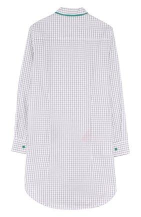 Детское платье-рубашка прямого кроя Mumofsix разноцветного цвета | Фото №1