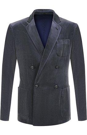 Пиджак из смеси вискозы и шелка | Фото №1