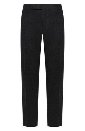 Мужские шерстяные брюки TOM FORD темно-серого цвета, арт. 431R11/610043   Фото 1