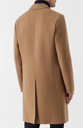 Однобортное кашемировое пальто | Фото №4