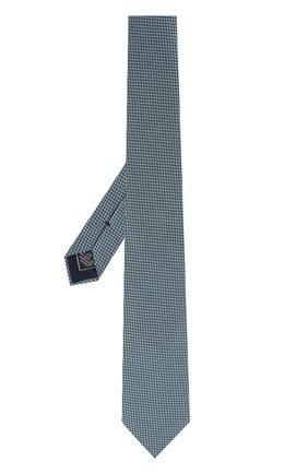 Мужской шелковый галстук BRIONI бирюзового цвета, арт. 062I00/0740I | Фото 2