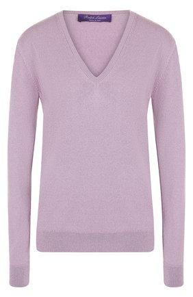 Женский кашемировый пуловер с v-образным вырезом RALPH LAUREN светло-розового цвета, арт. 290719946   Фото 1 (Рукава: Длинные; Статус проверки: Проверена категория, Проверено; Материал внешний: Шерсть, Кашемир; Длина (для топов): Стандартные; Женское Кросс-КТ: Пуловер-одежда; Стили: Кэжуэл)