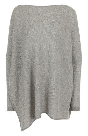 Женская кашемировый пуловер свободного кроя RALPH LAUREN серого цвета, арт. 290728352 | Фото 1