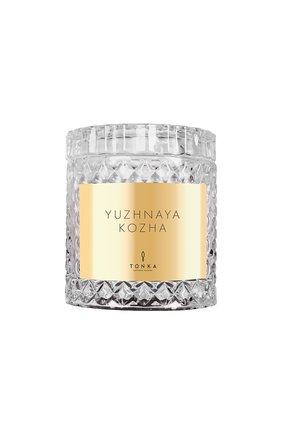 Парфюмированная свеча yuzhnaya kozha TONKA PERFUMES MOSCOW бесцветного цвета, арт. 4665304430050 | Фото 1