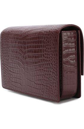 Женская сумка bellechasse SAINT LAURENT бордового цвета, арт. 482044/DND0W | Фото 3
