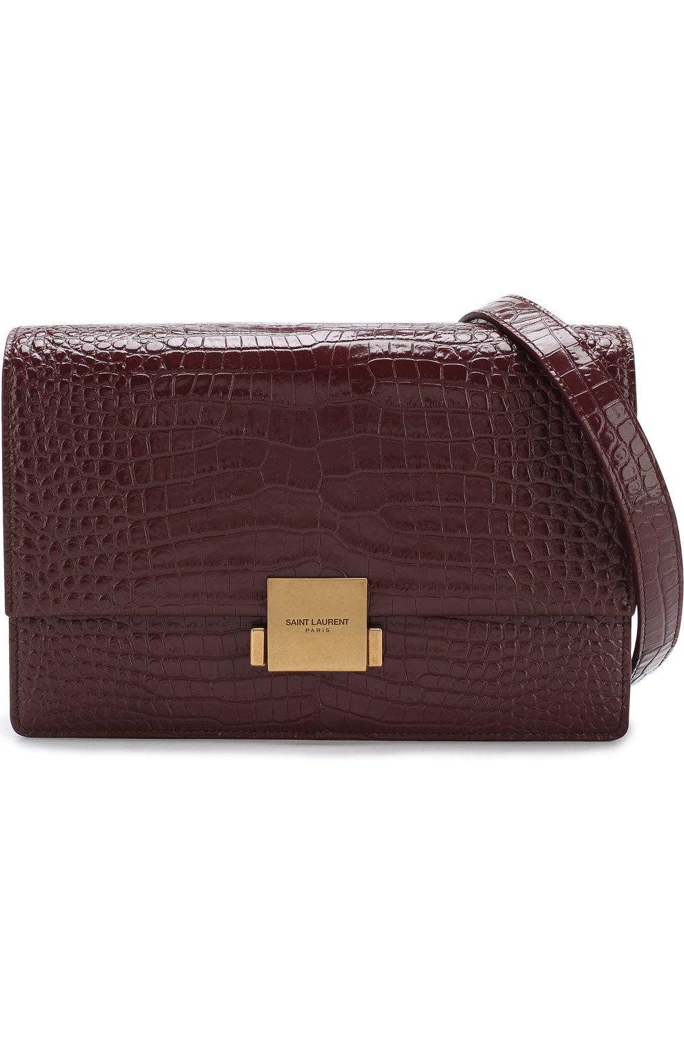 Женская сумка bellechasse SAINT LAURENT бордового цвета, арт. 482044/DND0W | Фото 5