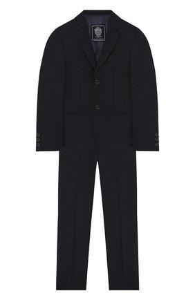 Шерстяной костюм из пиджака и брюк | Фото №1
