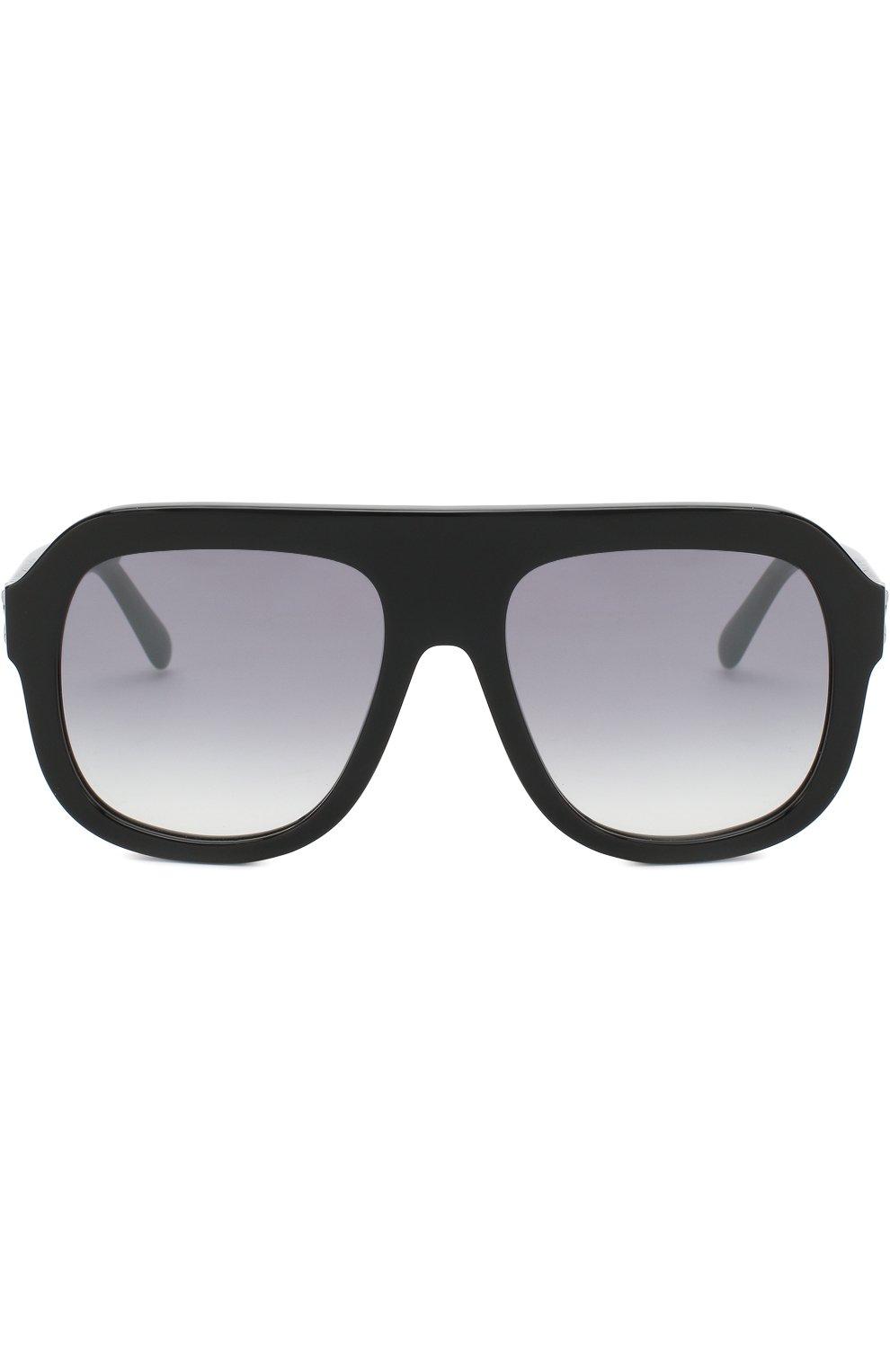 Женские солнцезащитные очки STELLA MCCARTNEY черного цвета, арт. 0065 001 | Фото 3