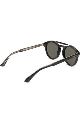 Мужские солнцезащитные очки GUCCI черного цвета, арт. GG0124 001 | Фото 3