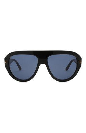 Женские солнцезащитные очки TOM FORD черного цвета, арт. TF589 01V   Фото 3