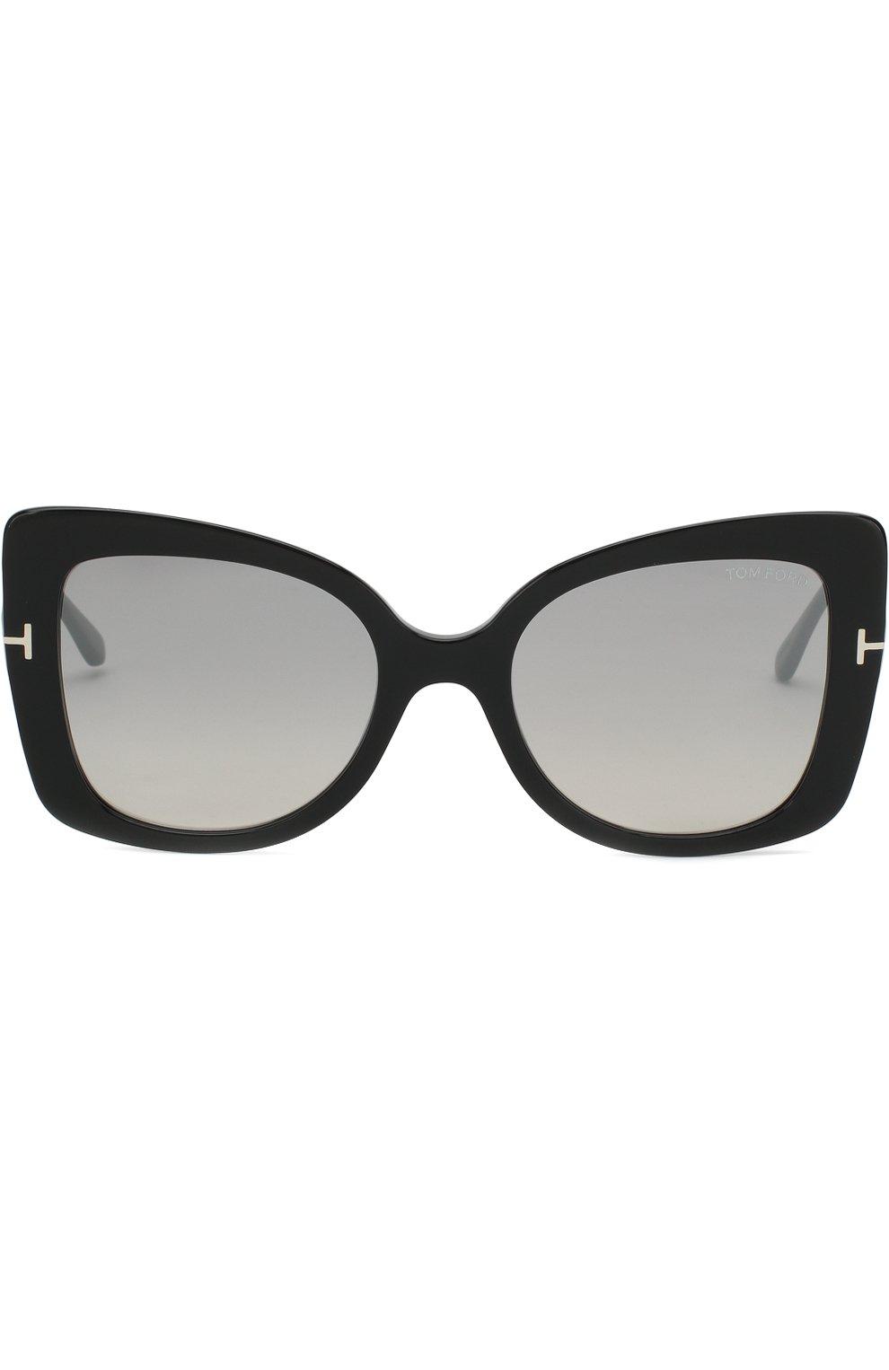 Женские солнцезащитные очки TOM FORD черного цвета, арт. TF609 01C | Фото 3