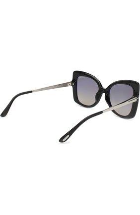 Женские солнцезащитные очки TOM FORD черного цвета, арт. TF609 01C | Фото 4