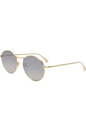 Мужские солнцезащитные очки TOM FORD золотого цвета, арт. TF649 30C | Фото 1
