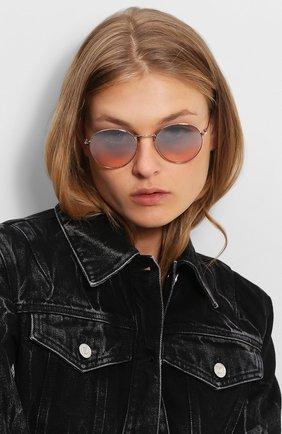 Женские солнцезащитные очки TOM FORD светло-розового цвета, арт. TF649 33Z | Фото 2