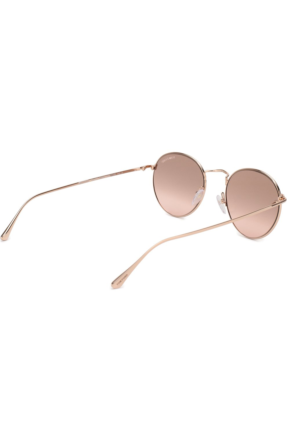 Женские солнцезащитные очки TOM FORD светло-розового цвета, арт. TF649 33Z | Фото 4