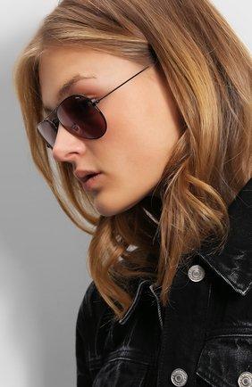 Солнцезащитные очки Ray-Ban фиолетовые   Фото №1