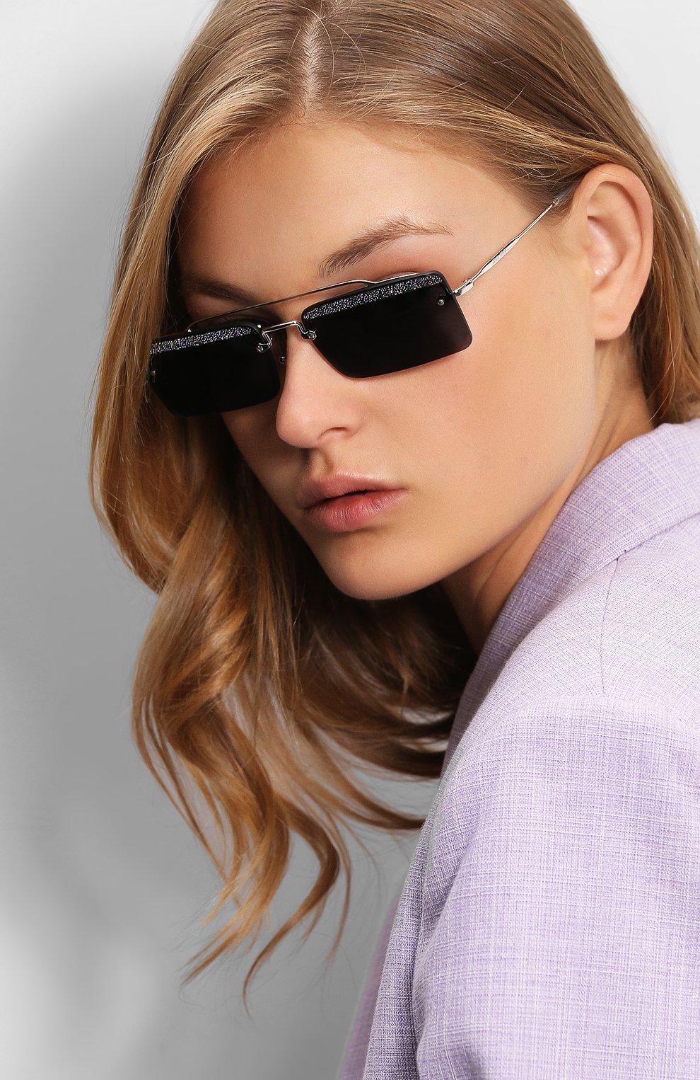 Солнцезащитные очки Miu Miu синие | Фото №2