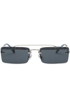 Солнцезащитные очки Miu Miu синие | Фото №3