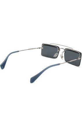 Солнцезащитные очки Miu Miu синие | Фото №4