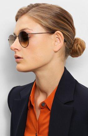 Женские солнцезащитные очки RAY-BAN коричневого цвета, арт. 3447N-004/51 | Фото 2