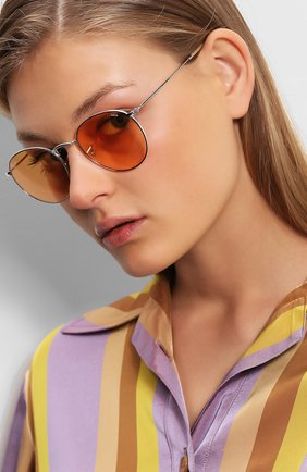 Солнцезащитные очки Ray-Ban оранжевые   Фото №1