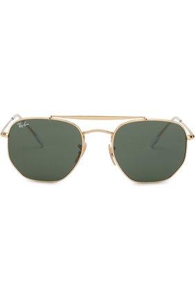 Мужские солнцезащитные очки RAY-BAN золотого цвета, арт. 3648-001 | Фото 2