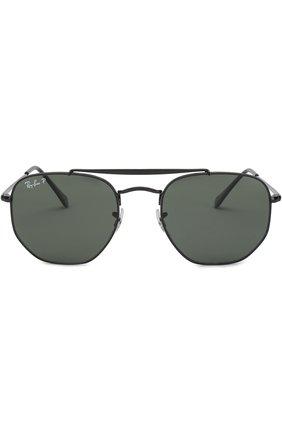 Мужские солнцезащитные очки RAY-BAN черного цвета, арт. 3648-002/58 | Фото 2