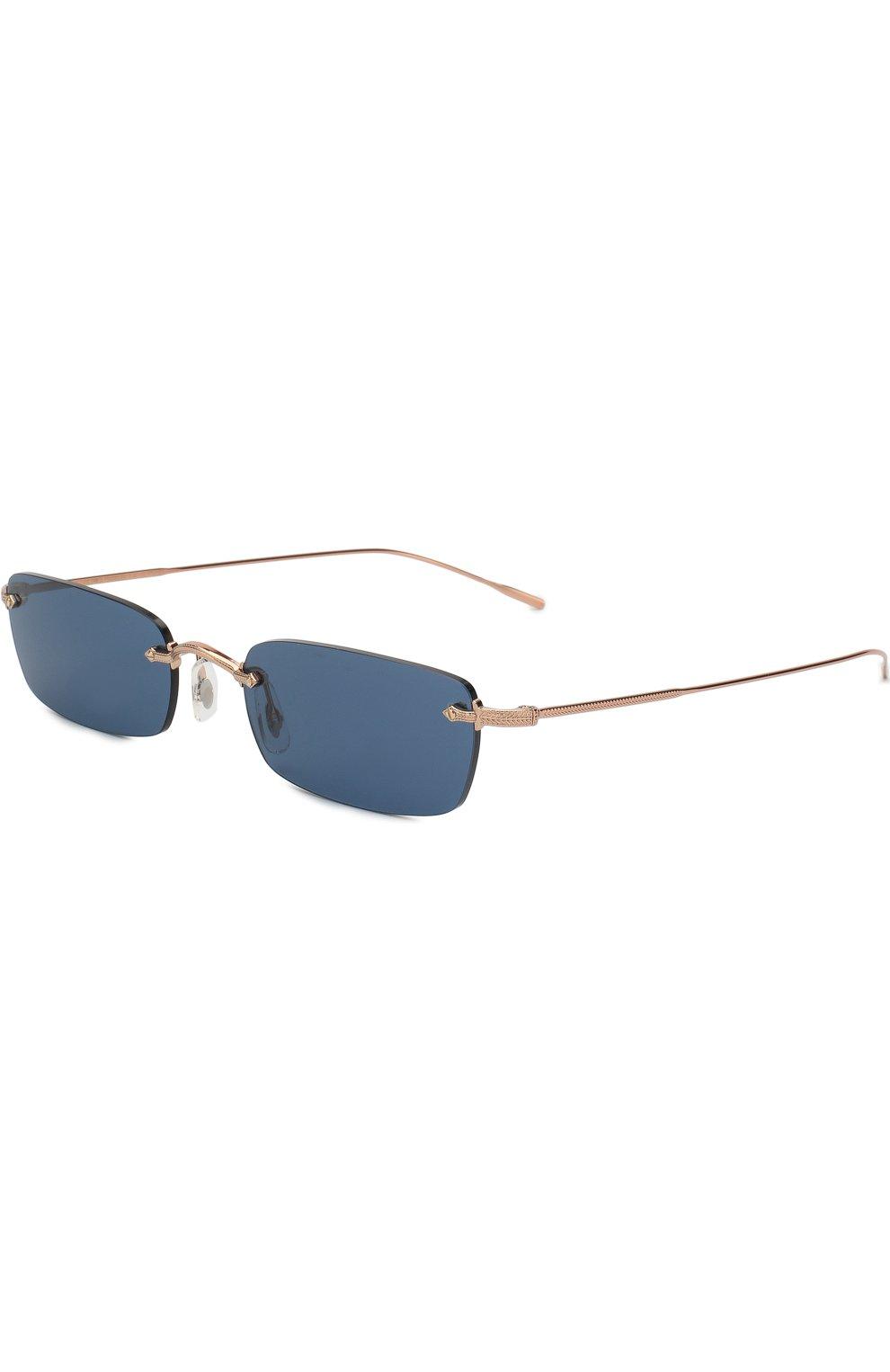 Женские солнцезащитные очки OLIVER PEOPLES темно-синего цвета, арт. 1243S-503780 | Фото 1