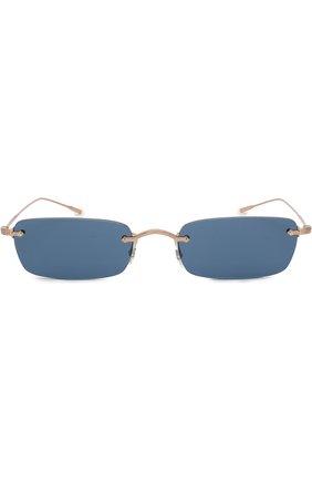 Женские солнцезащитные очки OLIVER PEOPLES темно-синего цвета, арт. 1243S-503780 | Фото 3