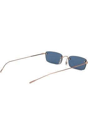 Женские солнцезащитные очки OLIVER PEOPLES темно-синего цвета, арт. 1243S-503780 | Фото 4